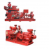 Diesel fire fighting pump
